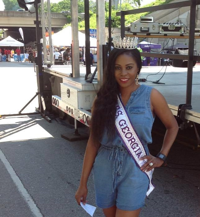MC at Sweet Auburn Fest