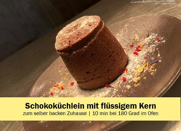 Schokoküchlein mit flüssigem Kern
