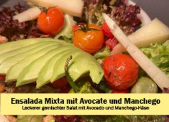 Ensalada Mixta mit Manchego & Avocado