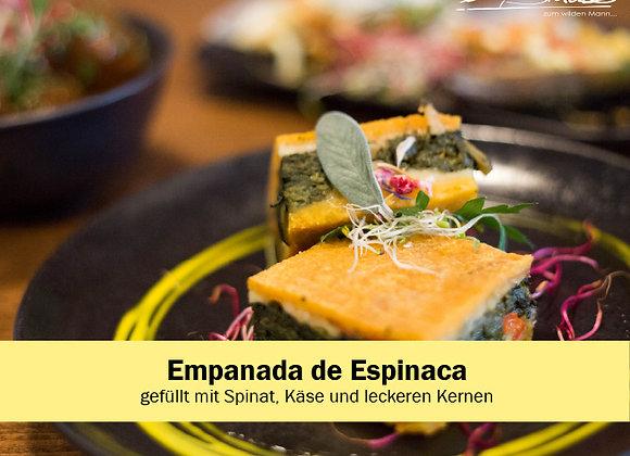 Empanada Espinaca (grosse Port.)