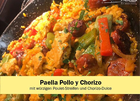 Paella Pollo y Chorizo