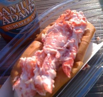 Lobster Roll Touchdown, but not nirvana