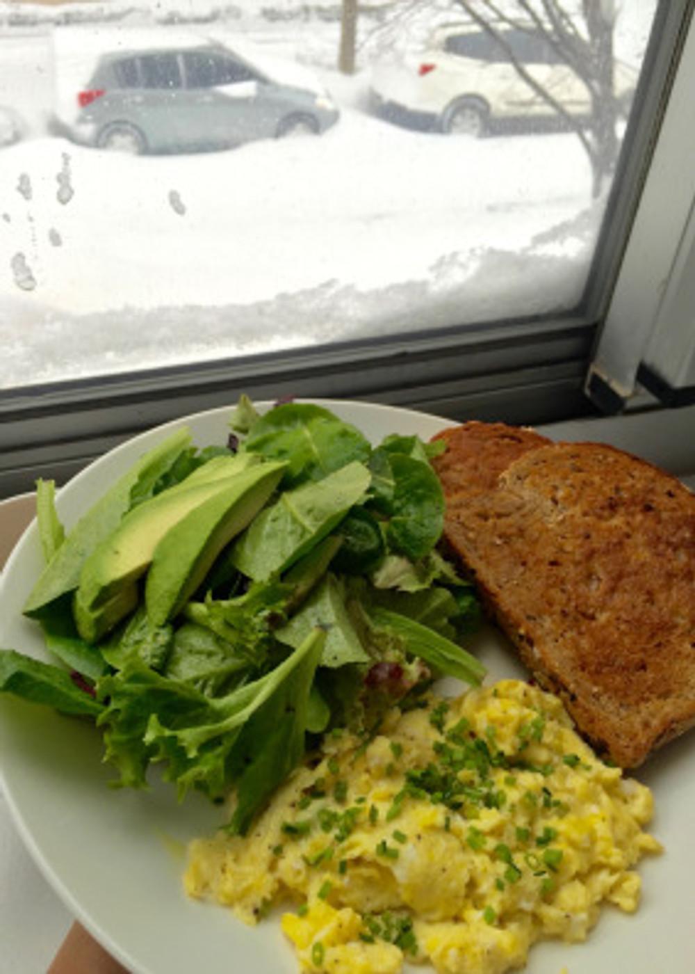 Blizzard Food-decadent breakfast