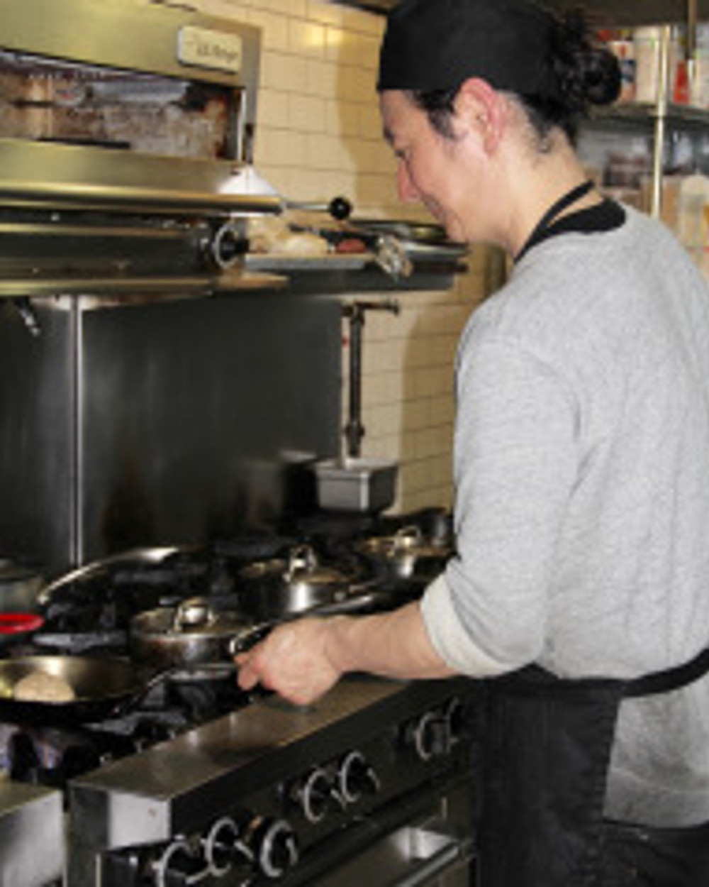 Mountain Bird-Chef Tajima at the helm