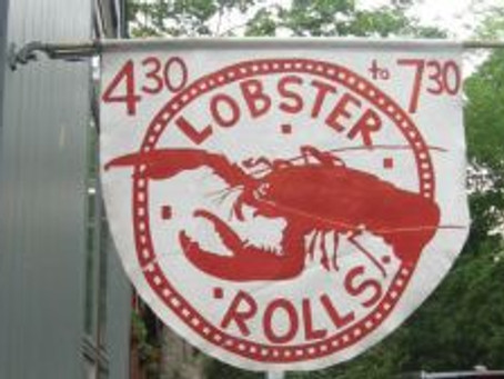Preparing for a lobster roll