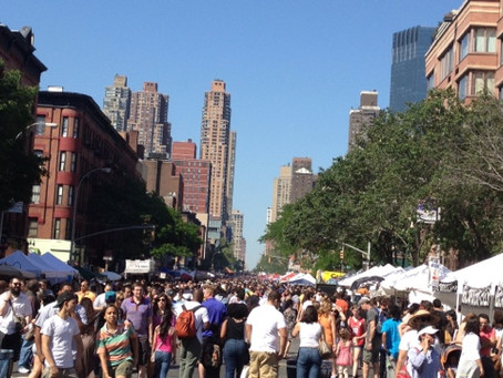 Strolling the 9th Avenue Food Festival