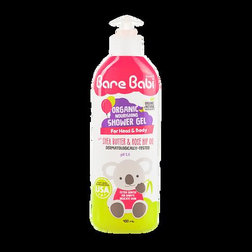 Bare Babi Organic  Shower Gel 400ml 800x