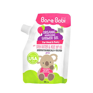 Bare Babi Organic Nourishing Shower Gel
