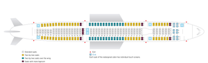 Mapa assentos avião