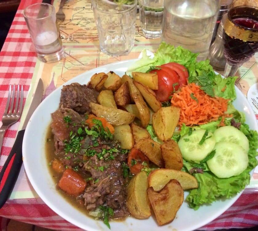 prato restaurante La Petite Rose des Sables
