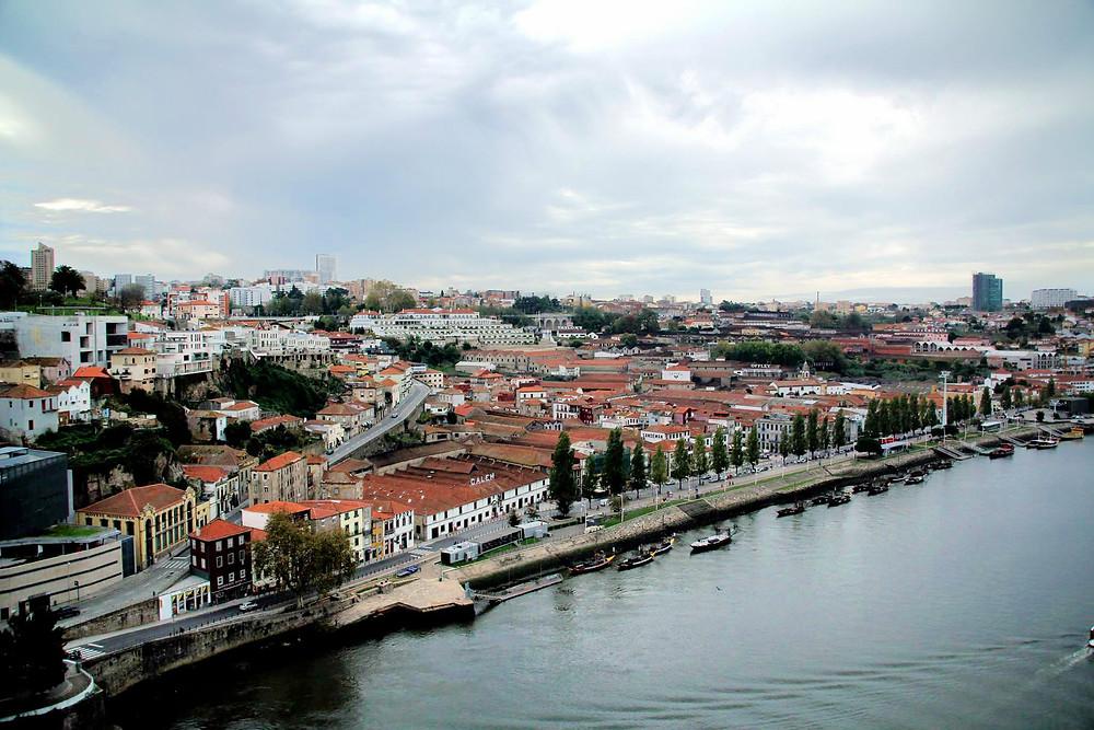 vista de Porto Portugal