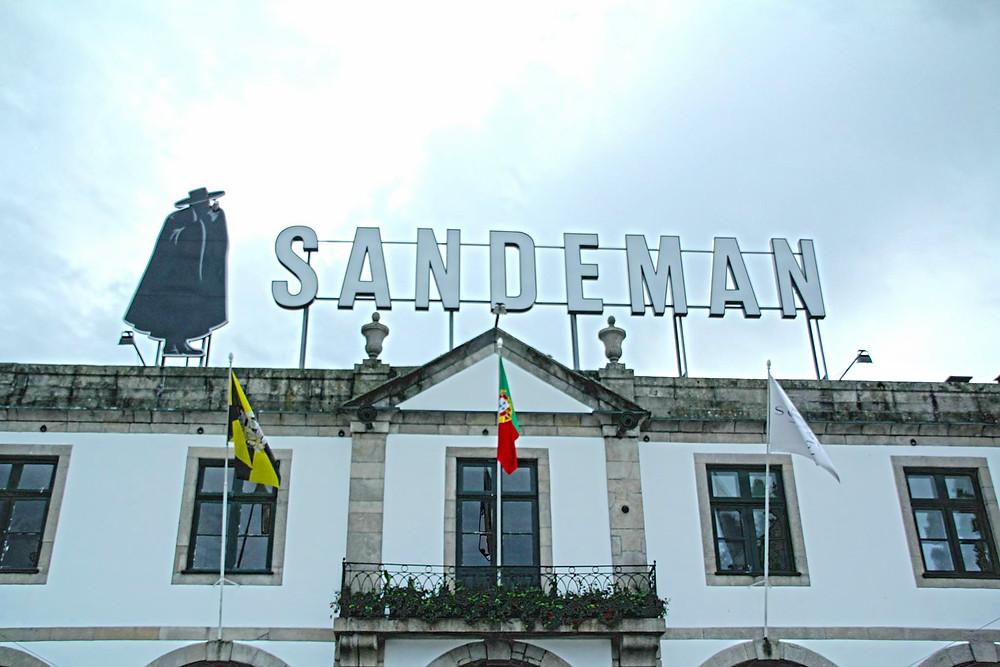 Sandeman Cave porto vinho
