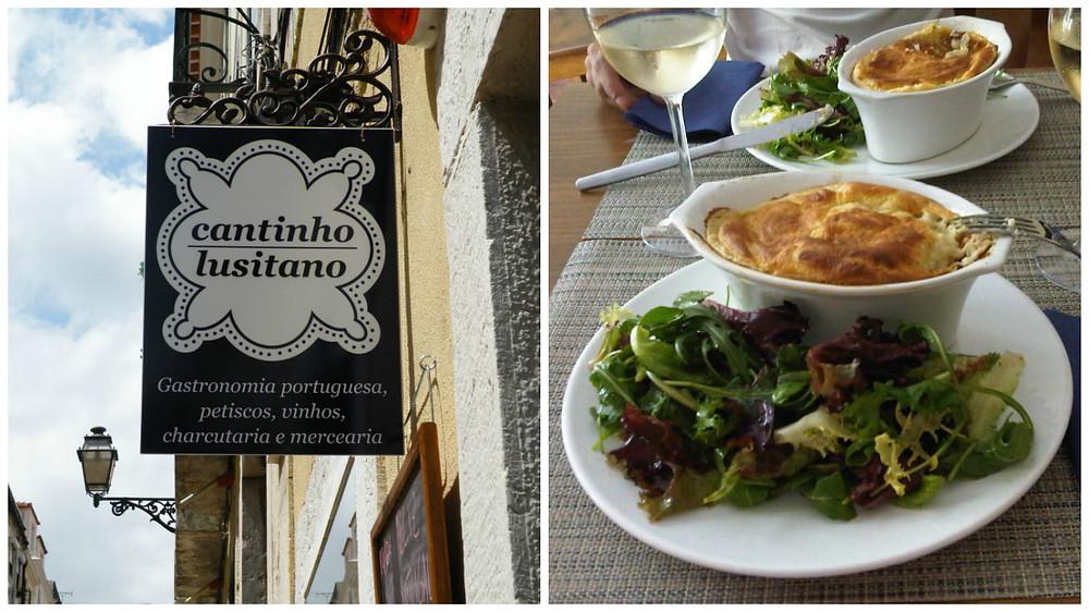 Restaurante português cantinho lusitano