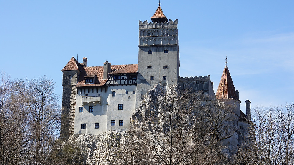 Castelo de Bran na Transilvâvia, Romenia.