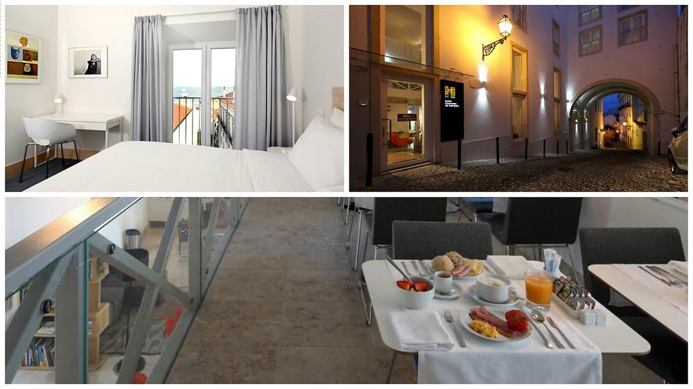 Hotel Convento do Salvador hospedagem Lisboa