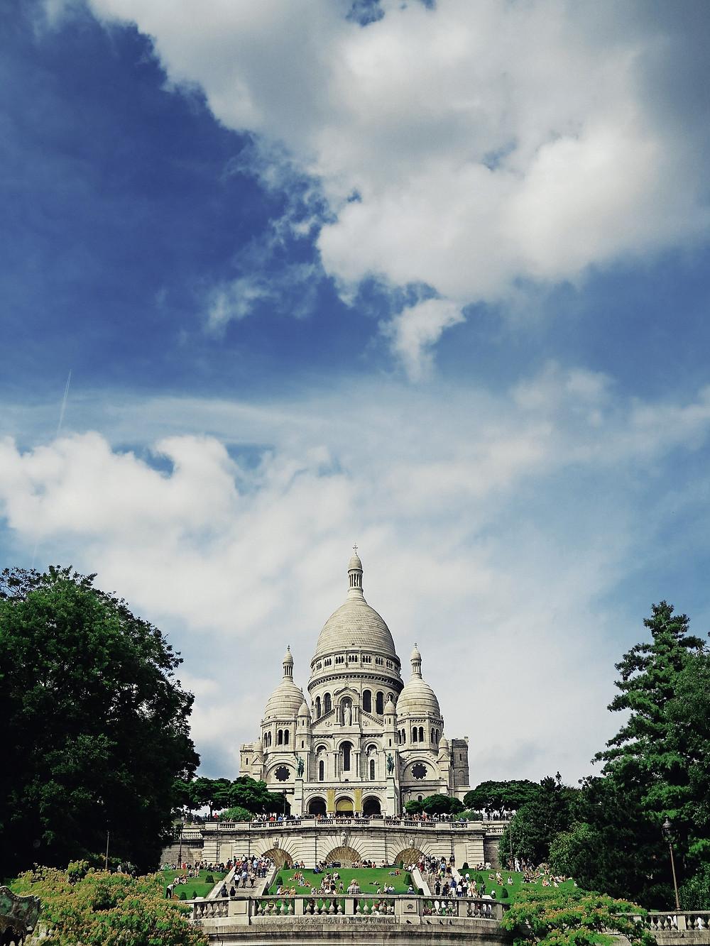 Basilica Sacré-Coeur Sagrado Coração Paris