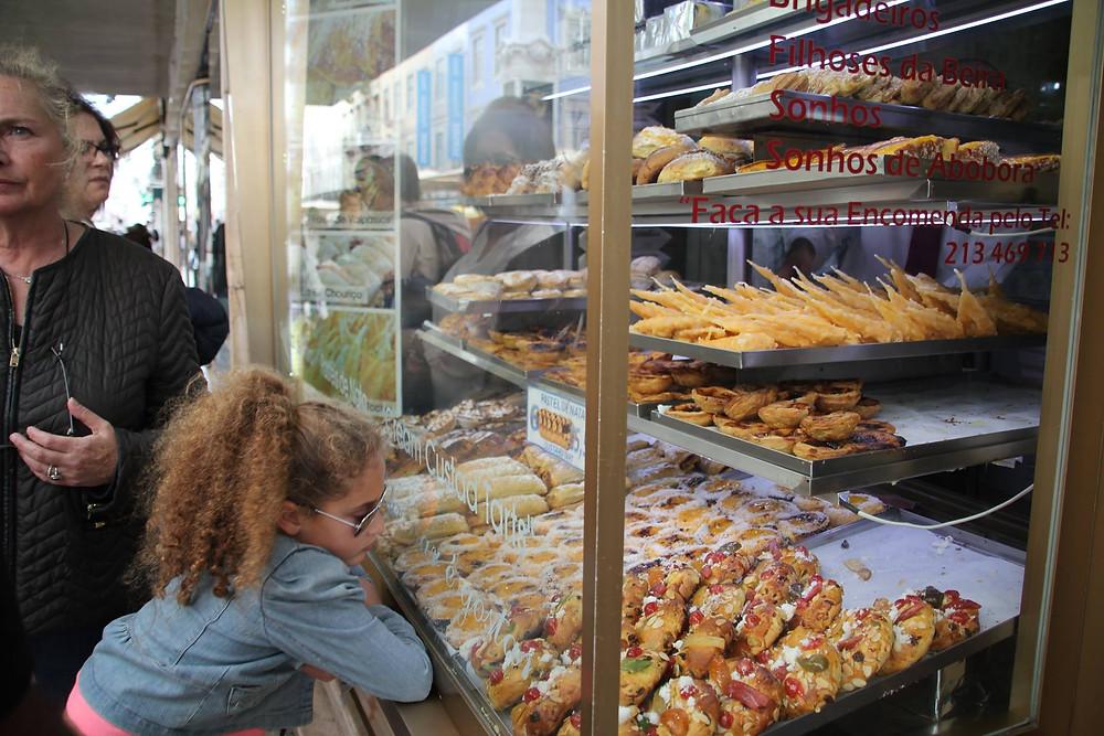 vitrine doces portugueses Lisboa
