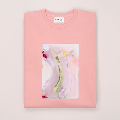 SWEATSHIRT TWIST ROSÉ