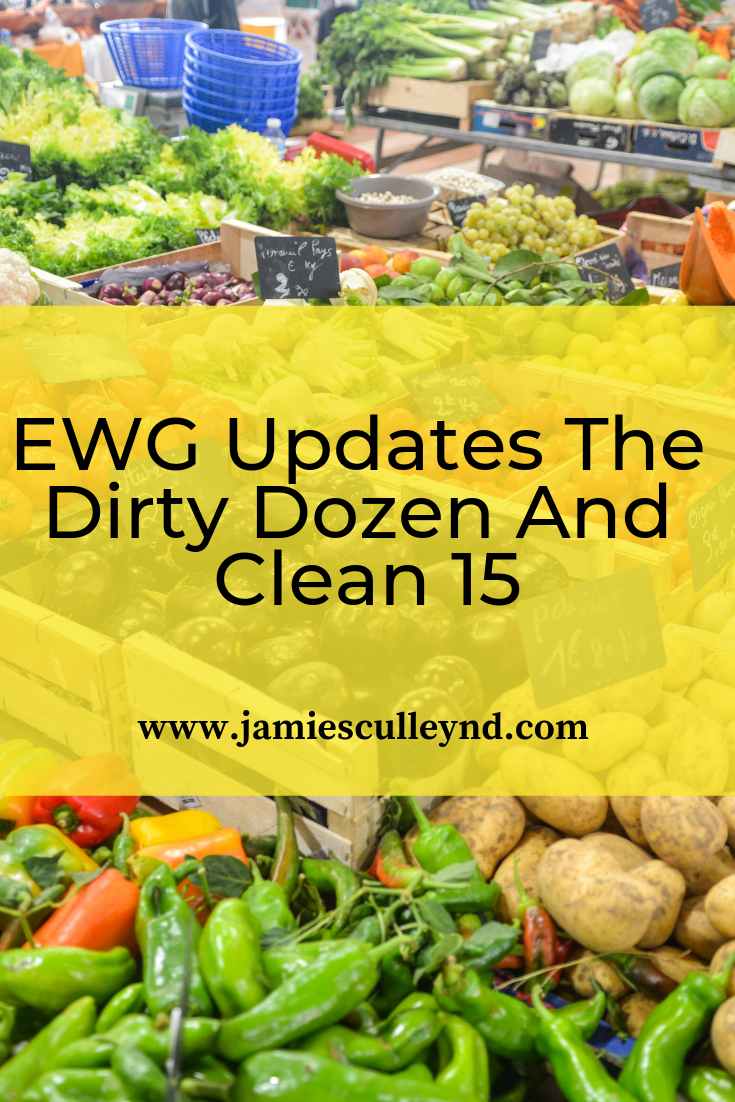 The EWG updates the Dirty Dozen and Clean 15 for 2019