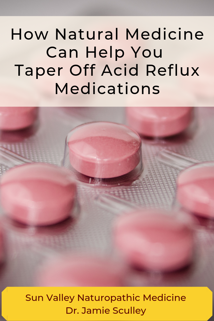 how natural medicine can help you taper off acid reflux medications