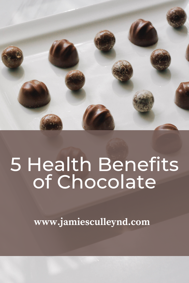 Health benefits of dark chocolate in naturopathic care
