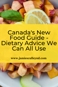 Canada's new dietary advice and food guide; healthy eating and diet; naturopathic medicine