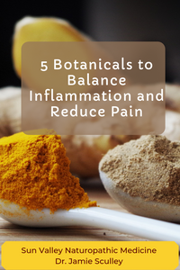 5 botanicals to reduce inflammation and pain in naturopathic medicine