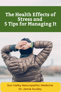 health effects of chronic stress, naturopathic medicine