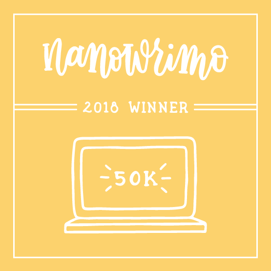 NaNoWriMo 2018 Winner