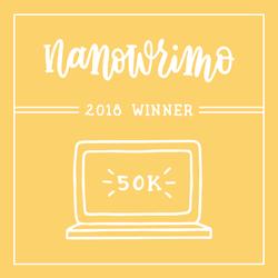 NaNoWriMo 2018 Winner