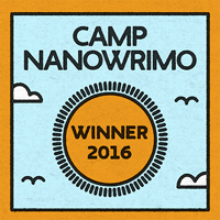 Camp NaNoWriMo April 2016 Winner