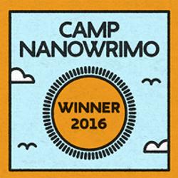Camp NaNoWriMo April 2016 Winner