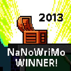 NaNoWriMo 2013 Winner