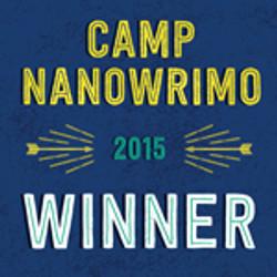 Camp NaNoWriMo July 2015 Winner