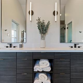 Rice Military Modern Master Bath Remodel