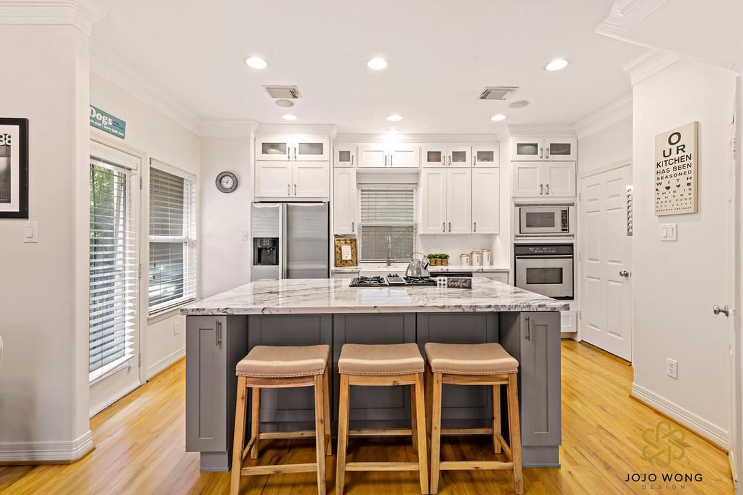 Modern Kitchen Remodel, Rice Military