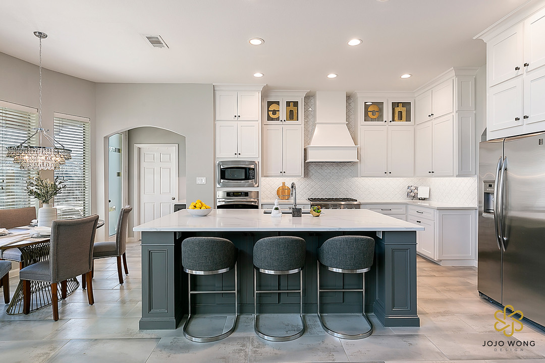 Modern Kitchen & Interiors Complete Makeover