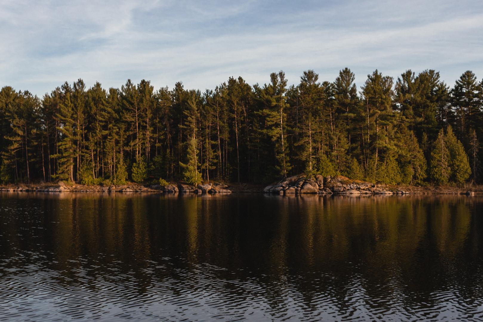 Flat Rapids Camp