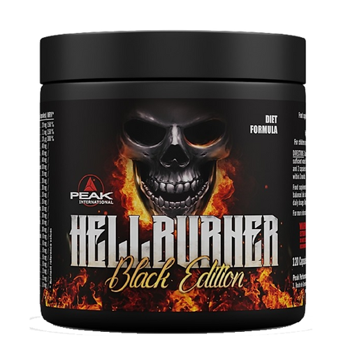 Peak Performance Hellburner - Black Edition 120 Kaps.  (150g)