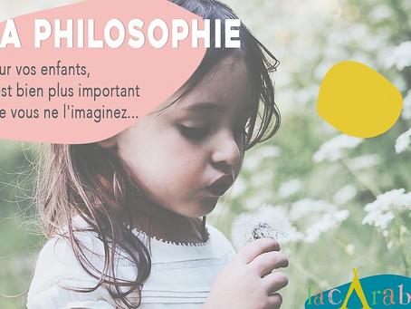 Philosopher, c'est bien plus important pour vos enfants que vous ne l'imaginez.