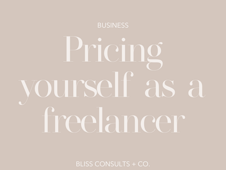 Pricing yourself as a Freelancer