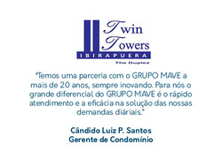 Twin Towers - Depoimento