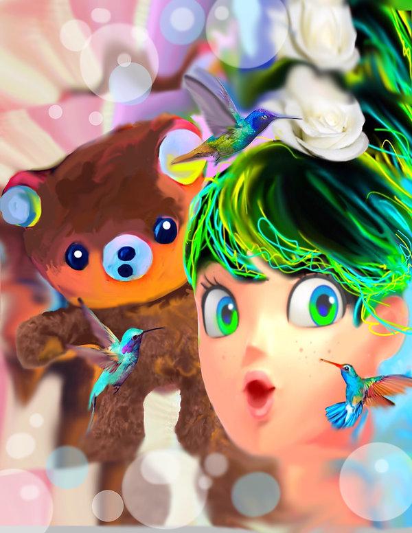 Hannah and Teddy