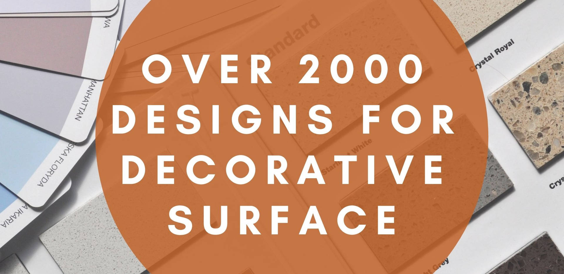 OVER 2000 DESIGNS FOR DECORATIVE SURFACE