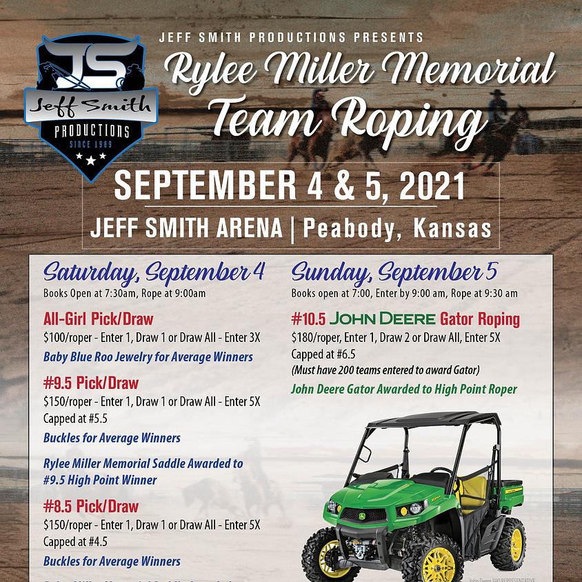 Rylee Miller Memorial Team Roping