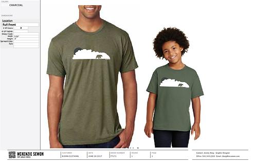 Youth CloudBear Triblend T-shirt