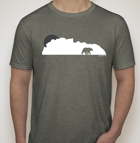 CloudBear Triblend T-Shirt