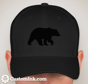 BlackBear Classic Fitted Hat