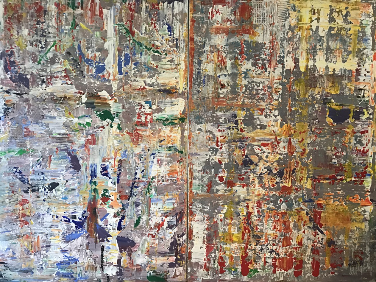 A new beginning - 120x160cm