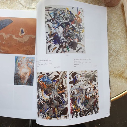 3 artworks sold at Auciton House in Paris